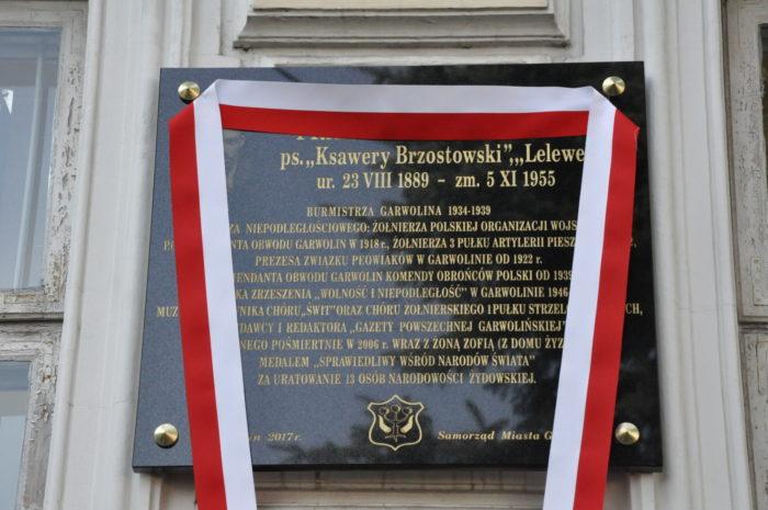 Tablica poświęcona pamięci Franciszka Paśniczka